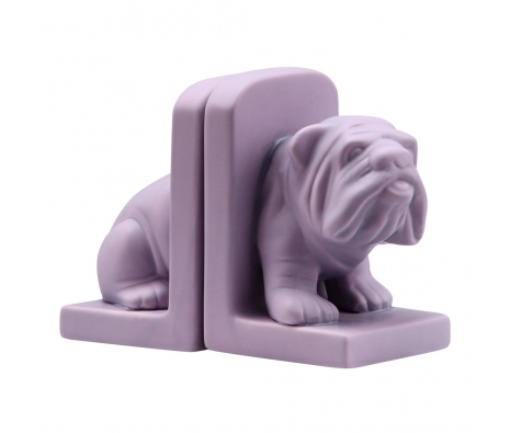 Bulldog Bookends, Purple made by Warehouse Blowout .