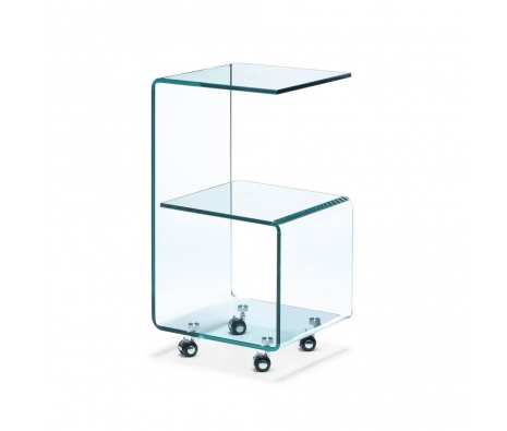 Armstrong Side Table, Glass made by Avant-Garde Accessories .