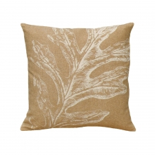 Oak Leaf Linen Pillow