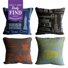 Cityscape Pillow - Daily Find