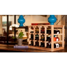 Eco-Friendly 12 Bottle Stackable Wine Rack - Daily Find