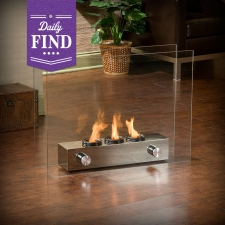 Crofton Indoor/Outdoor Fireplace - Daily Find