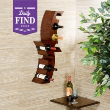Holmes Wall Mount Wine Rack - Daily Find