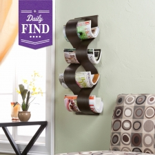 Florence Wall Mount Magazine Rack - Daily Find