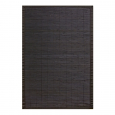 Villager Bamboo Rug, Ebony