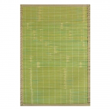 Key West Bamboo Rug, Green