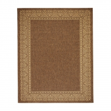 Brown Terme Outdoor Rug, 5' x 8'
