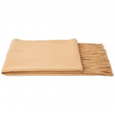 100% Cashmere Throw, Café Au Lait