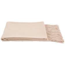 100% Cashmere Throw, Oatmeal