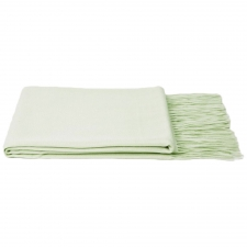 100% Cashmere Throw, Green