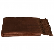 100% Bamboo Throw, Cappucino