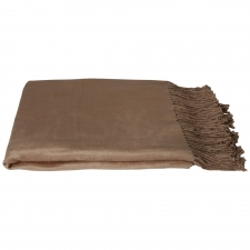100% Bamboo Throw, Sand