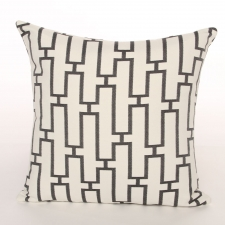 Reversible Scandia Pillow, Ebony