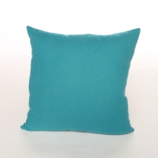 Solid Carowinds Pillow, Aqua