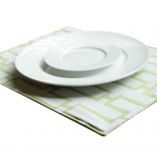 Set of 4 Reversible Feria Placemats, Apple