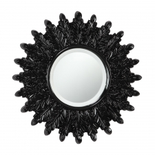"18"" Andorra Mirror, Black"