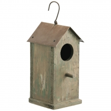 "10"" Wood Birdhouse"