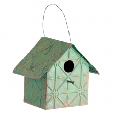 Iron Birdhouse, Green