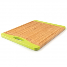 Rectangular Bamboo Chopping Board made by bergHOFF Worldwide .