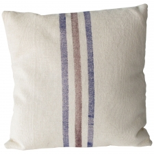 Blue & Red Pillow, Small