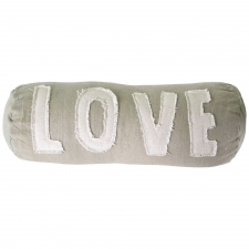 Love Canvas Bolster