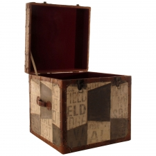 "18"" Patchwork Trunk"