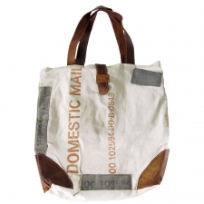 "18"" x 16"" Domestic Mail Canvas Tote"