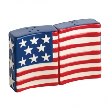 S/2 Patriotic Salt & Pepper Shakers