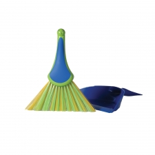 Peacock Dustpan Set