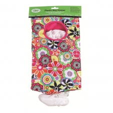 Flowers Plastic Bag Keeper