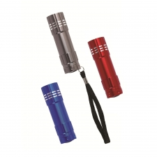 3 Pack Earthpad 9 LED Flashlights