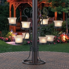 Wymore 8-Votive Umbrella Light