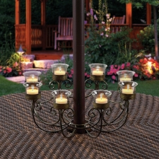 Madison 8-Votive Umbrella Light