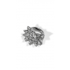 Pave Wicked Ring - Silver