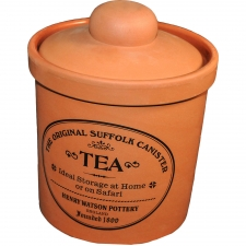 Terracotta Tea Canister,  Medium