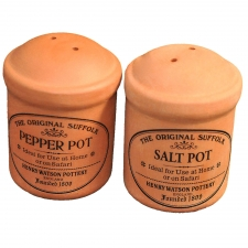 Terracotta Cruet Salt & Pepper Set