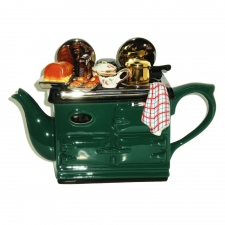 Teapottery - Aga Teapot Sunday Lunch-Green