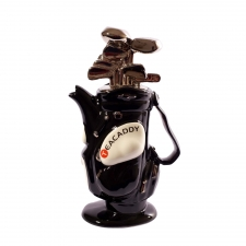 Teapottery - Golf Bag - Black