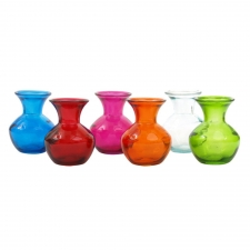 Assorted Milan Vases, Set of 6