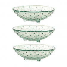 "8"" Porcupine Bowls, Set of 3"