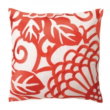 Chrysanthemum Pillow, Mango