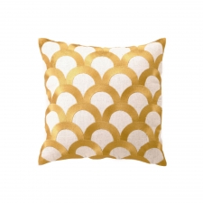 Scales Pillow, Citron