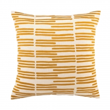 Grass Blades Pillow, Marigold