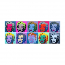 11.22 - 11.31: Marilyn Monroe, Portfolio of 10 Screen Prints