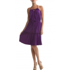 Victoria Dress, Purple Magic, L