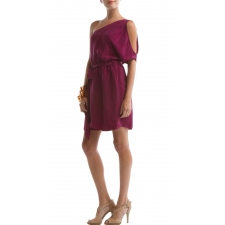 Brisbane Dress, Magenta Purple, S