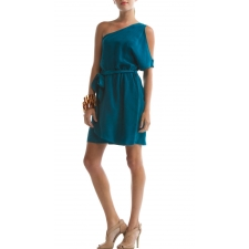 Brisbane Dress, Ocean Depths, L
