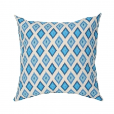 "20"" x 20"" Jamul Pillow, Arctic Blue"