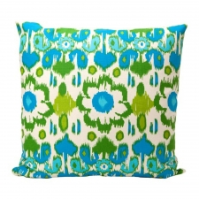 "20"" x 20"" Leucadia Pillow, Grasshopper"