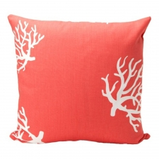 "20"" x 20"" Tecate Pillow, Coral"